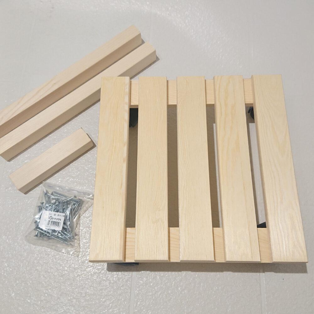 手作り赤ちゃんの木製手押し車の作り方材料
