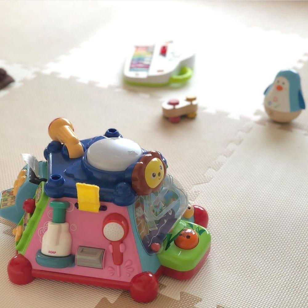 おもちゃレンタルサービスキッズラボラトリーでレンタルしたおもちゃの画像
